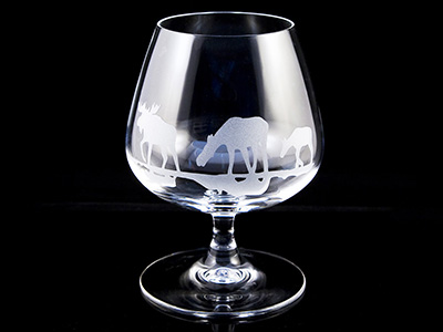 Cognac glass Moose