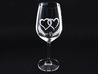 Wine glas Wedding